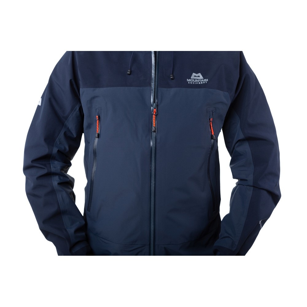 Mountain Equipment Saltoro Jacket Mens Blue Nights/Cosmos