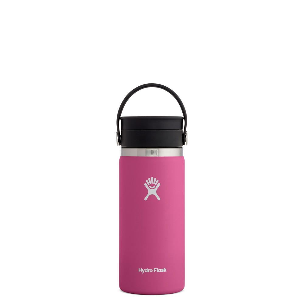 Hydro Flask 16oz Wide Mouth w/FlexSip Lid Carnation