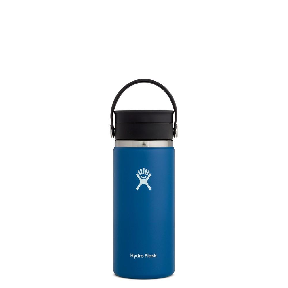 Hydro Flask 16oz Wide Mouth w/FlexSip Lid Cobalt