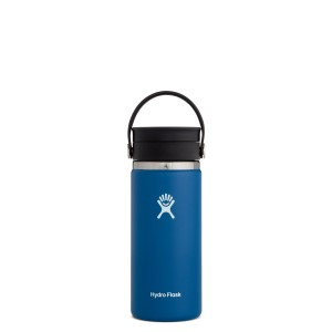 Hydro Flask 16oz Wide Mouth w/FlexSip Lid in Cobalt
