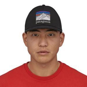 Line Logo Ridge LoPro Trucker Hat Black