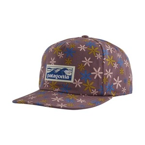 Boardshort Label Funfarer Cap Fish Flower Small:Hyssop Purple