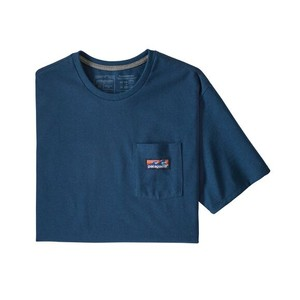 Boardshort Label Pocket Responsibili-Tee Mens Crater Blue