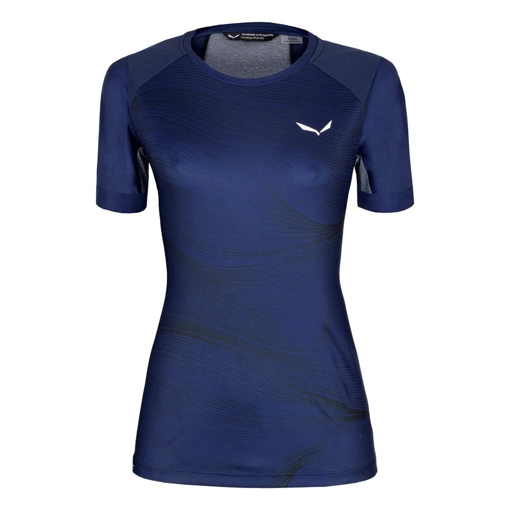 Salewa Seceda Dry T-Shirt Womens Navy Blazer