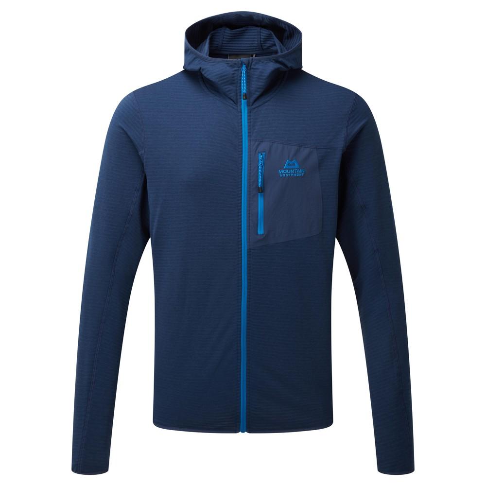 Mountain Equipment Lumiko Hooded Jacket Mens Medieval Blue