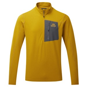 Mountain Equipment Lumiko Zip T Mens in Acid/Ombre