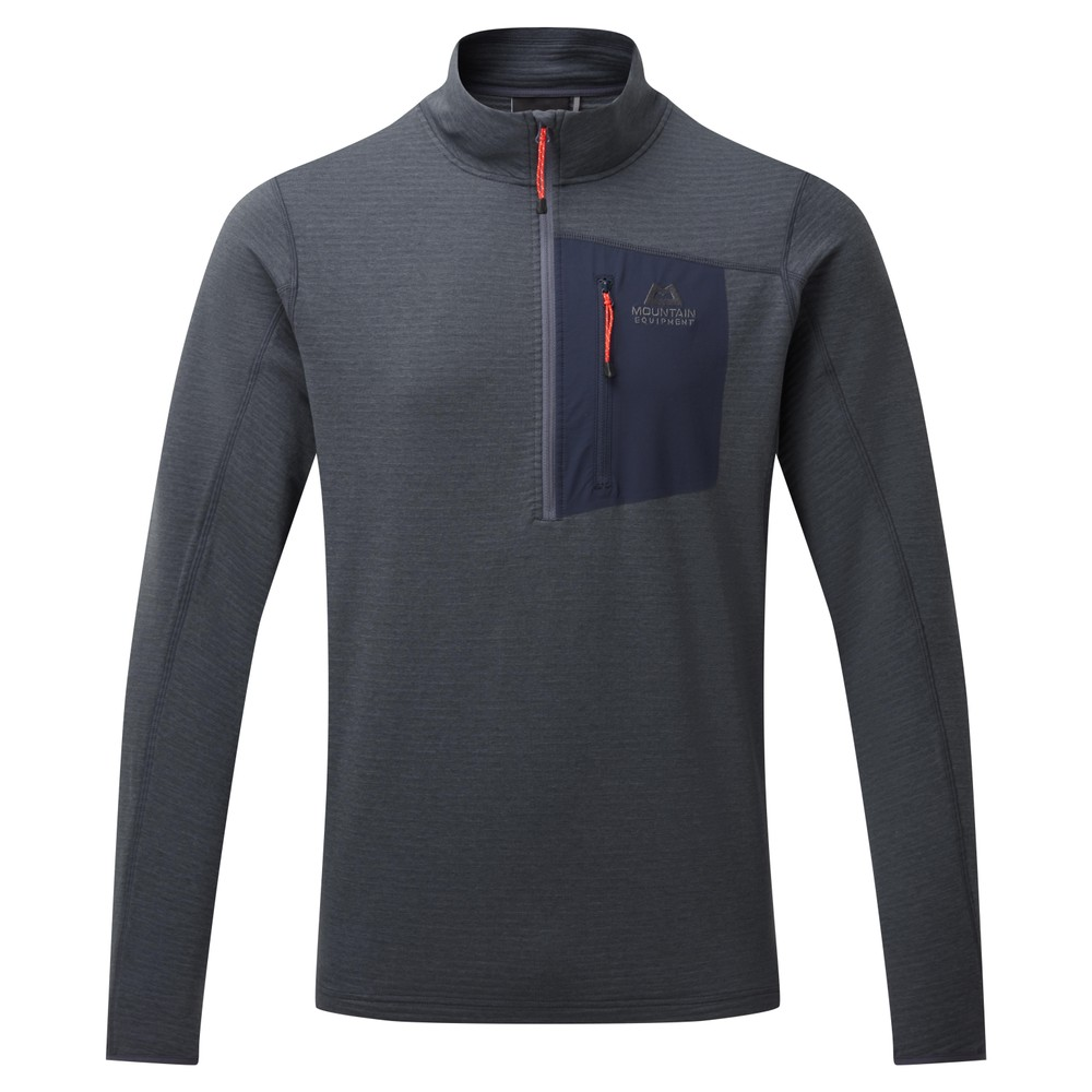 Mountain Equipment Lumiko Zip T Mens Ombre Blue/Cosmos
