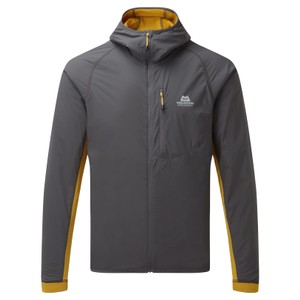 Switch Pro Hooded Jacket Mens Anvil Grey/Acid