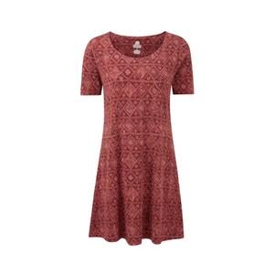 Kira Swing Dress Womens Clay Red