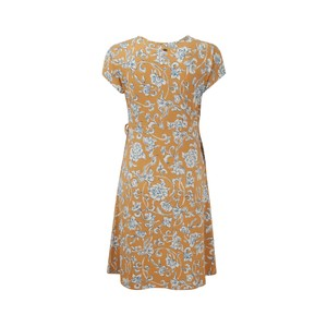 Padma Wrap Dress Womens Daal Yellow