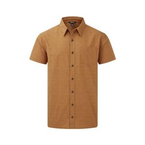 Sikeka Short Sleeve Shirt Mens Daal Yellow