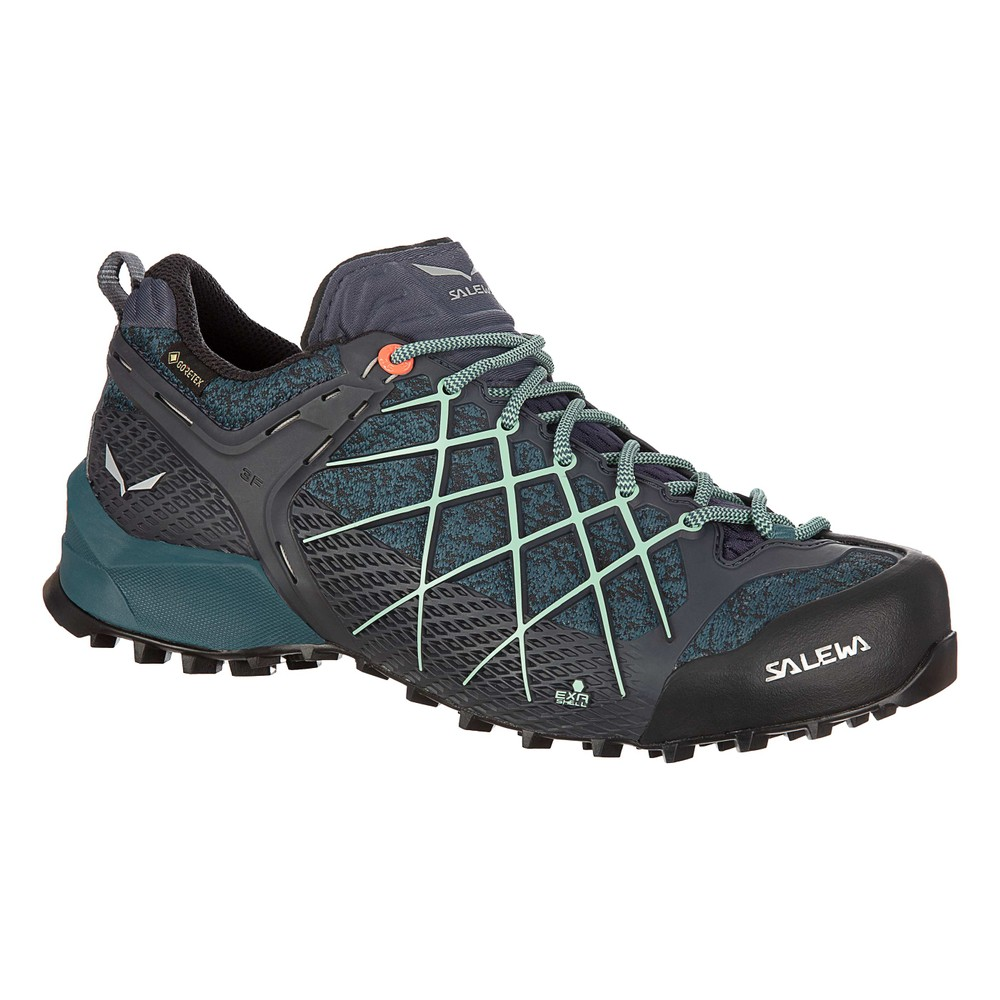 Salewa Wildfire GTX Womens Ombre Blue/Atlantic Deep