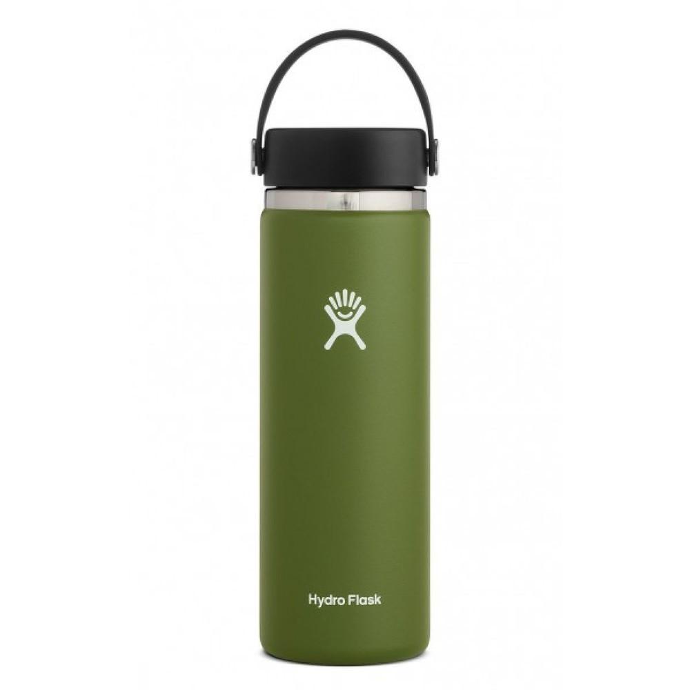 Hydro Flask 20oz Wide Mouth w/Flex Cap 2.0 Olive