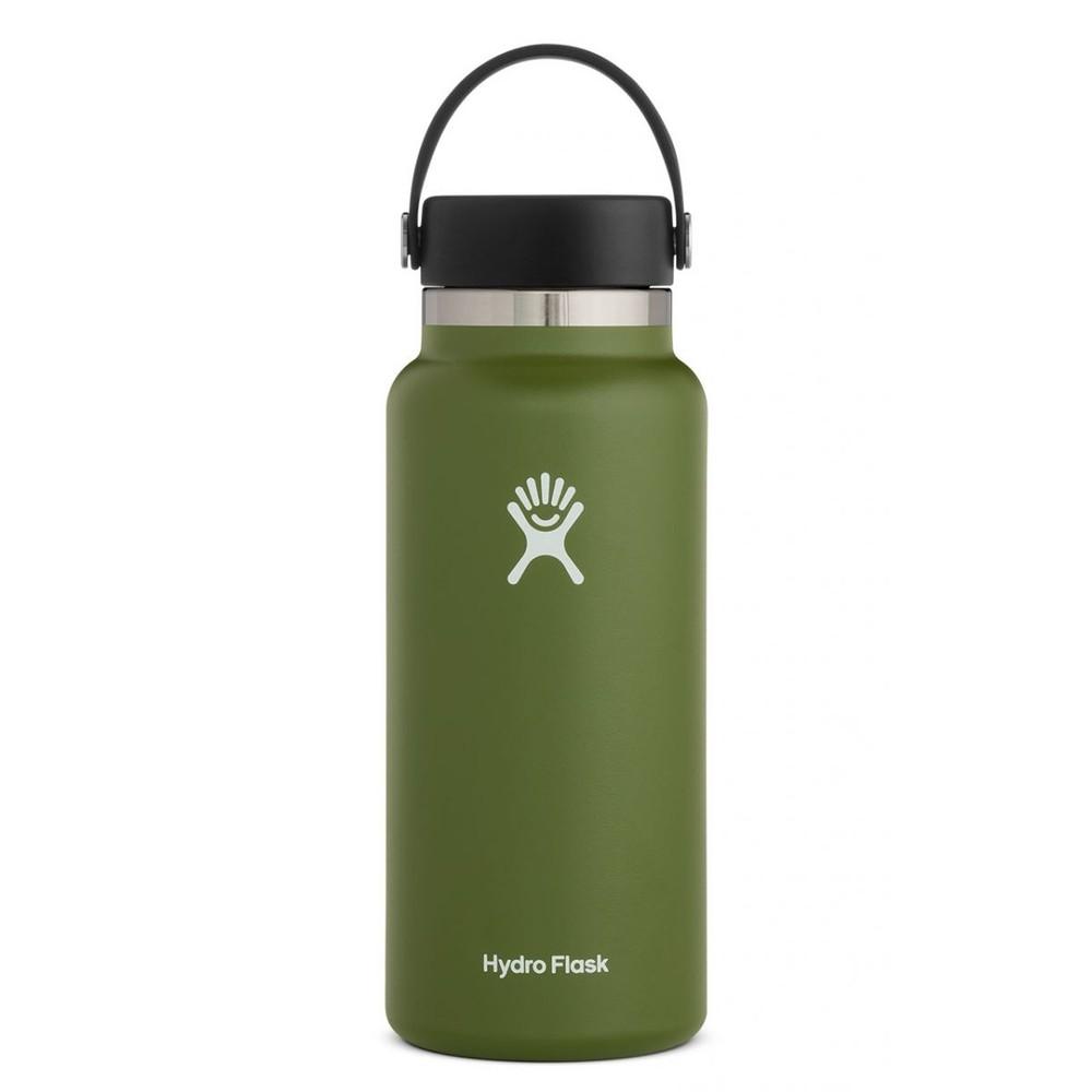 Hydro Flask 32oz Wide Mouth w/Flex Cap 2.0 Olive