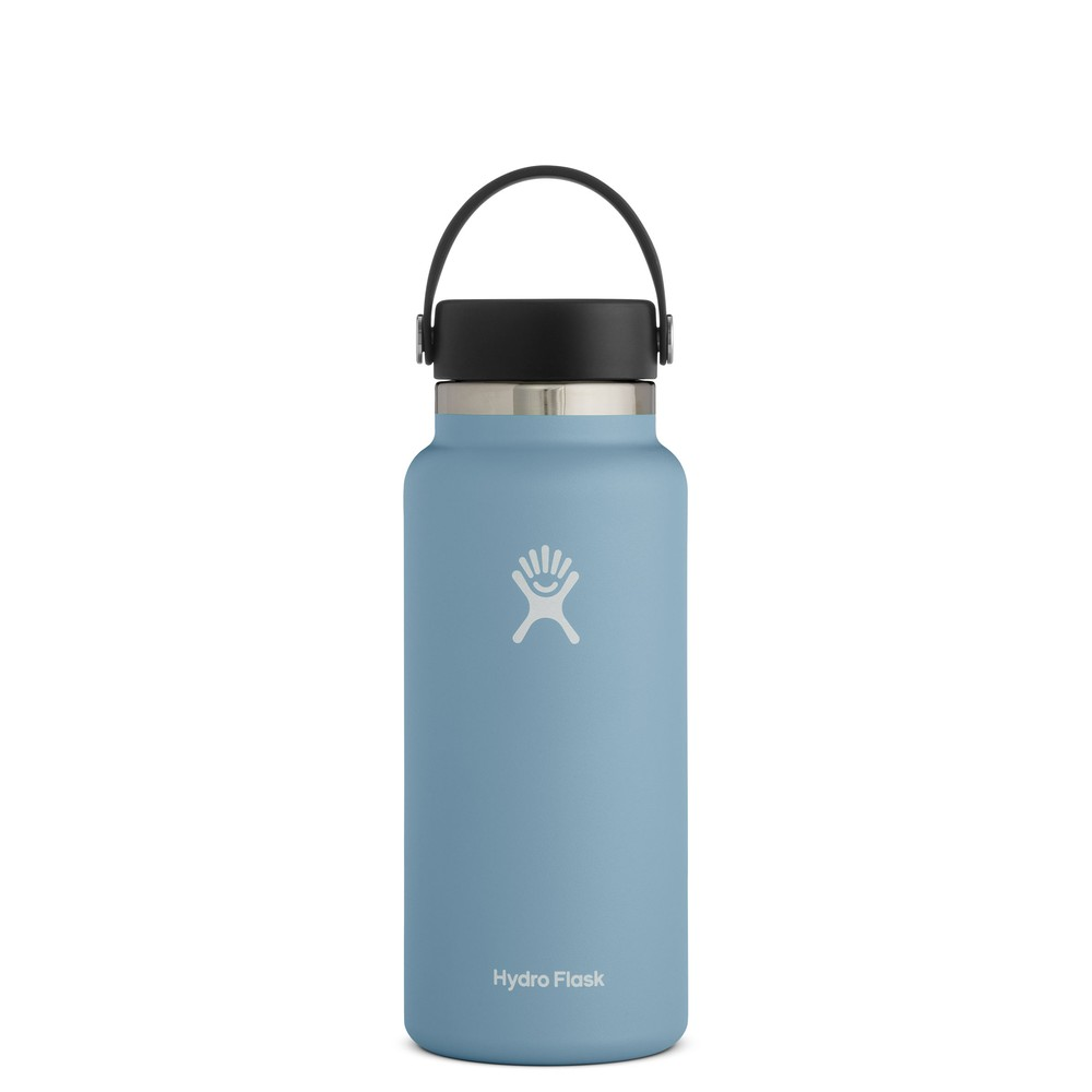 Hydro Flask 32oz Wide Mouth w/Flex Cap 2.0 Rain