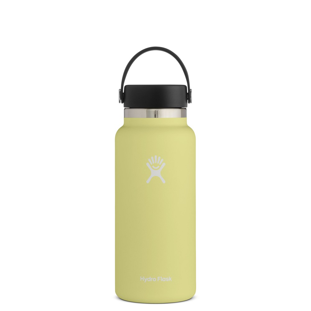 Hydro Flask 32oz Wide Mouth w/Flex Cap 2.0 Pineapple