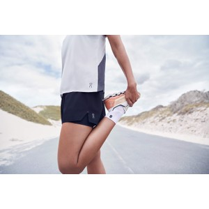 On Running Running Shorts Womens in Black
