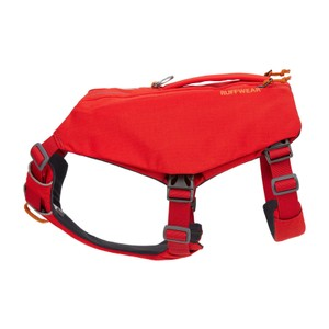 Ruffwear Switchbak Harness in Red Sumac