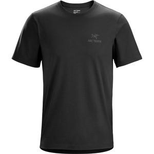 Arcteryx Emblem SS T-Shirt Mens in Black II