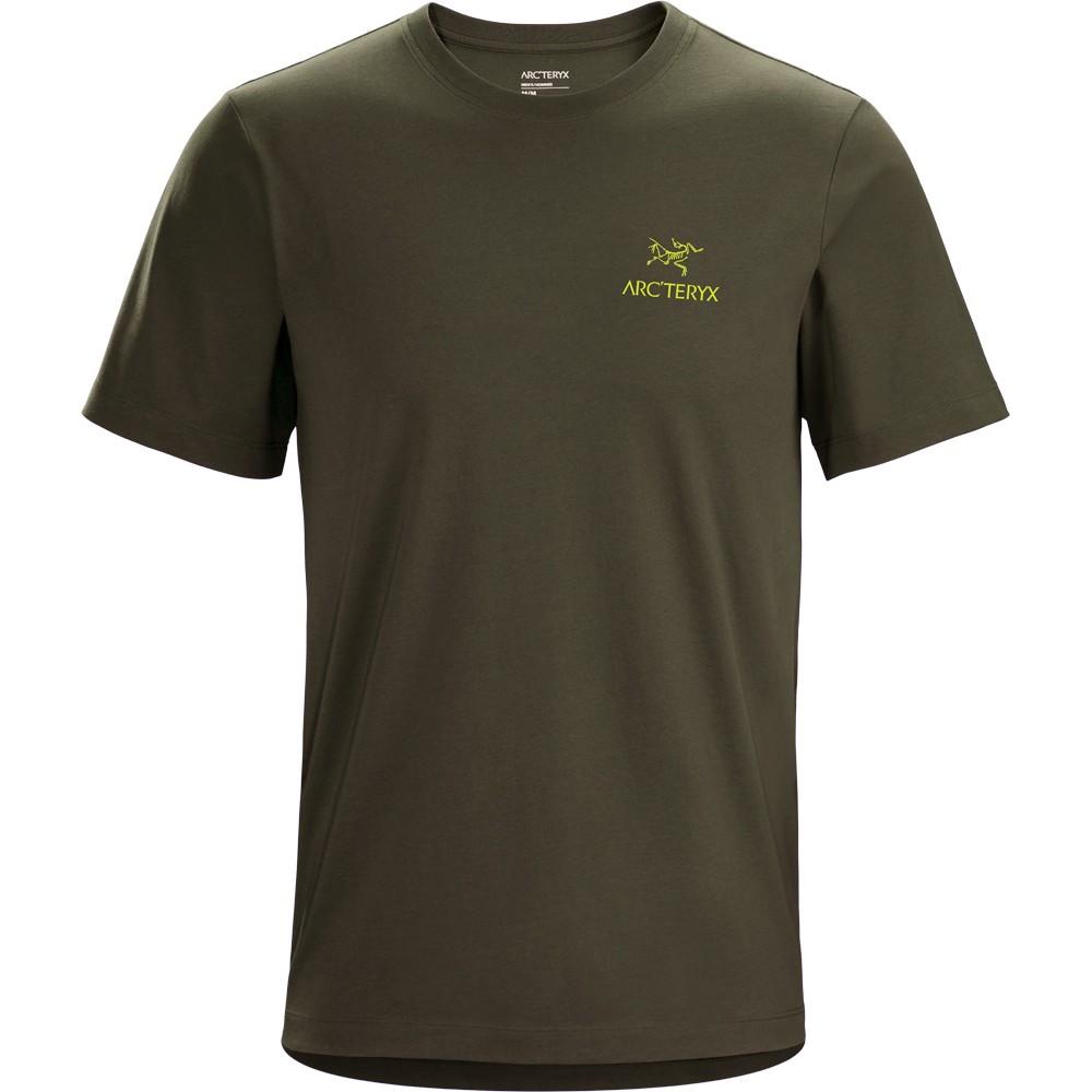 Arcteryx Emblem SS T-Shirt Mens Tatsu