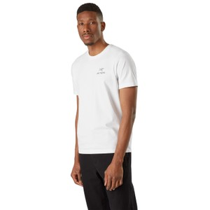 Arcteryx Emblem SS T-Shirt Mens in White