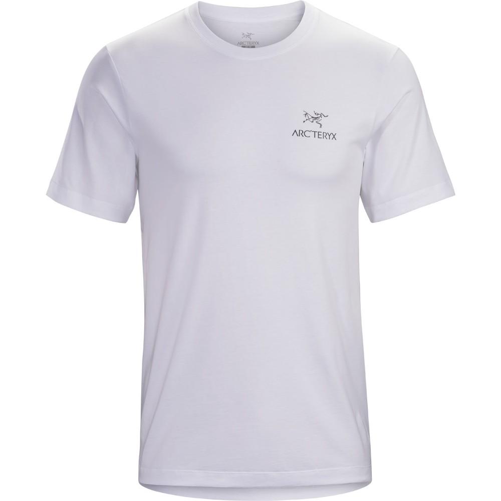 Arcteryx Emblem SS T-Shirt Mens White