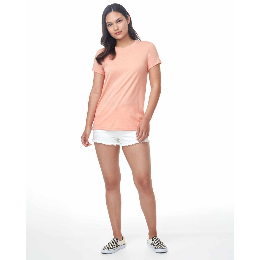 tentree Treeblend Classic T-Shirt Womens Chinook Orange Heather