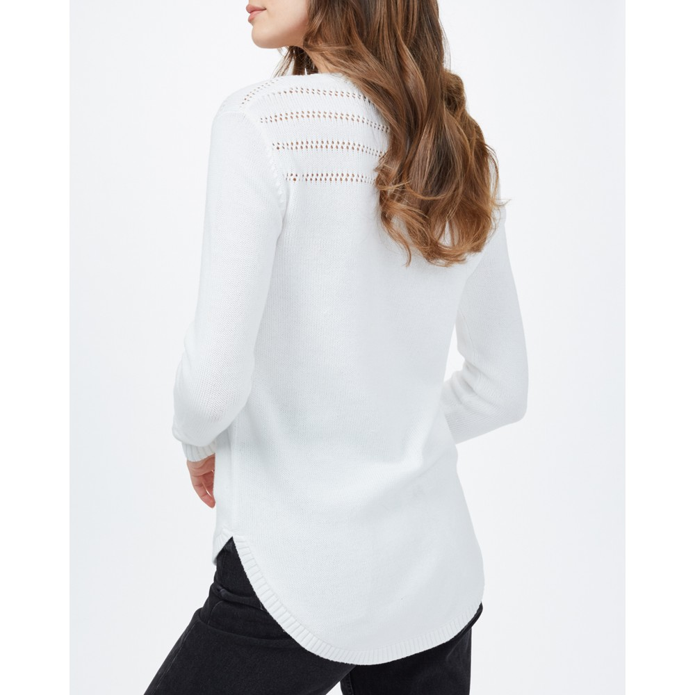 tentree Forever After Sweater Womens Cloud White