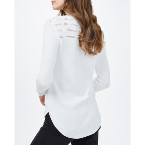 Forever After Sweater Womens Cloud White