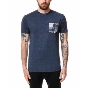 tentree Spruce Stripe Pocket T-Shirt Mens