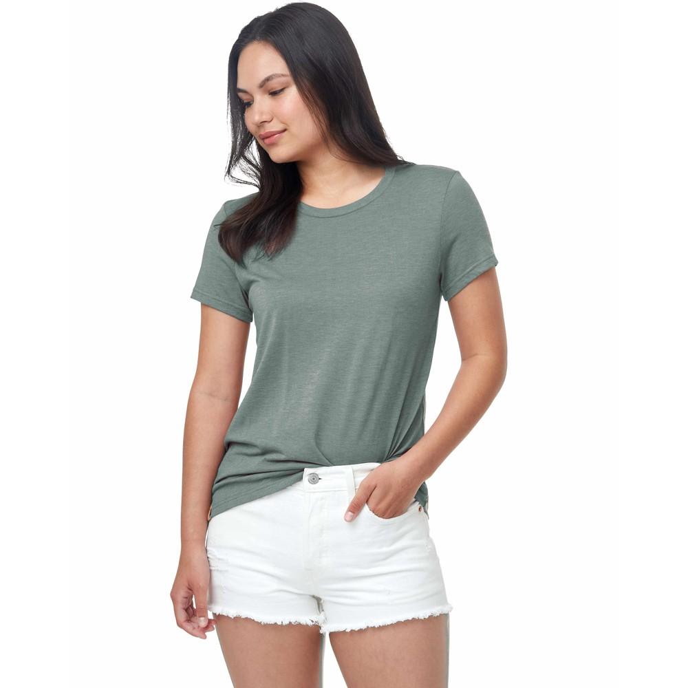 tentree Treeblend Classic T-Shirt Womens Agave Green Heather