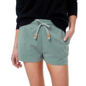 French Terry Fulton Short Womens Agave Green
