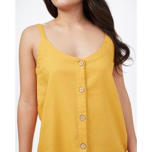 Main Street Tank Womens Honey Gold Yellow