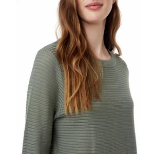 Highline Cotton Rib Crew Sweater Womens Agave Green
