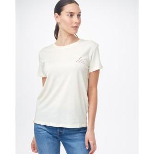 Volcano Views T-Shirt Womens Elm White Heather