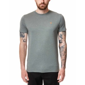 tentree TreeBlend Classic T-Shirt Mens in Agave Green Heather