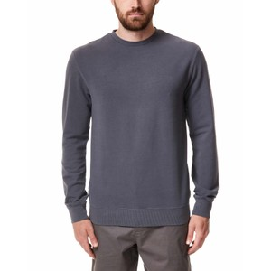 tentree French Terry Classic Crew Mens in Periscope Grey