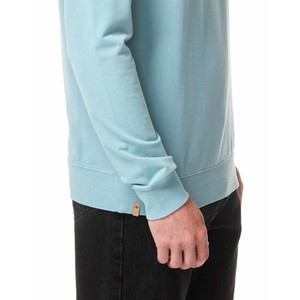 French Terry Classic Crew Mens Tourmaline Blue