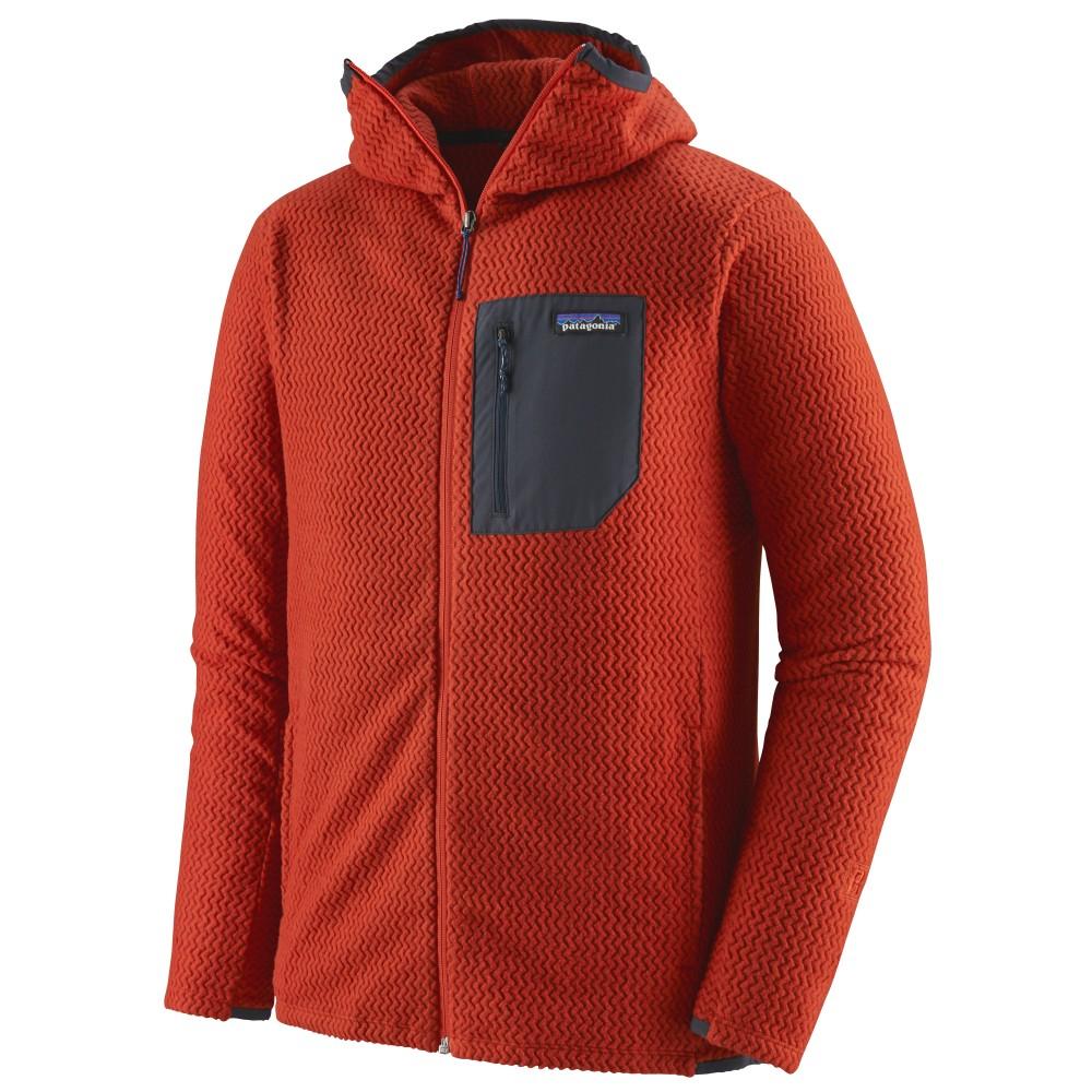 Patagonia R1 Air Full-Zip Hoody Mens Hot Ember