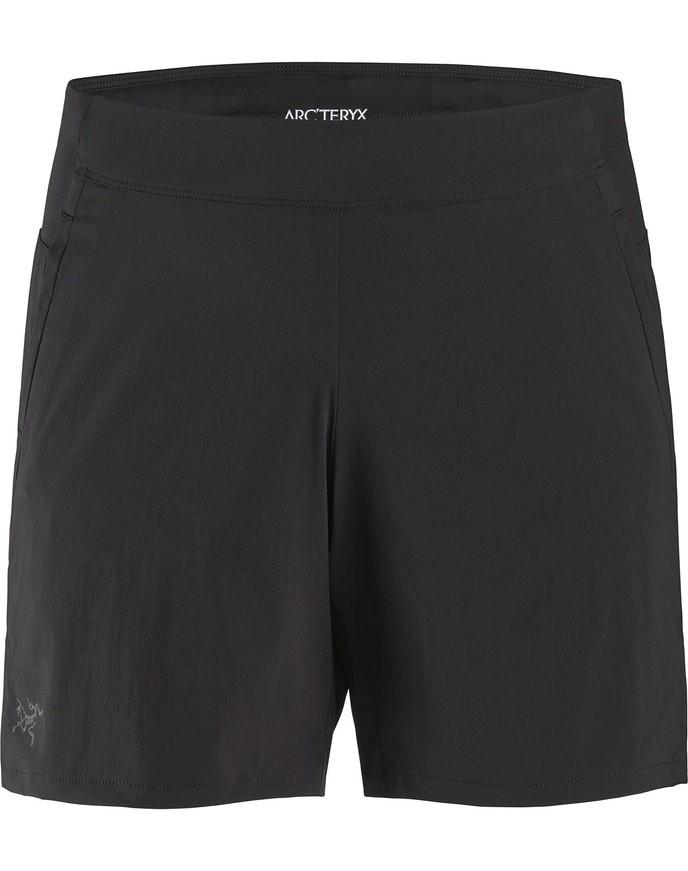 Arcteryx Taema Short 6 inch Womens Black