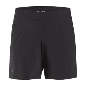Taema Short 6 inch Womens Black