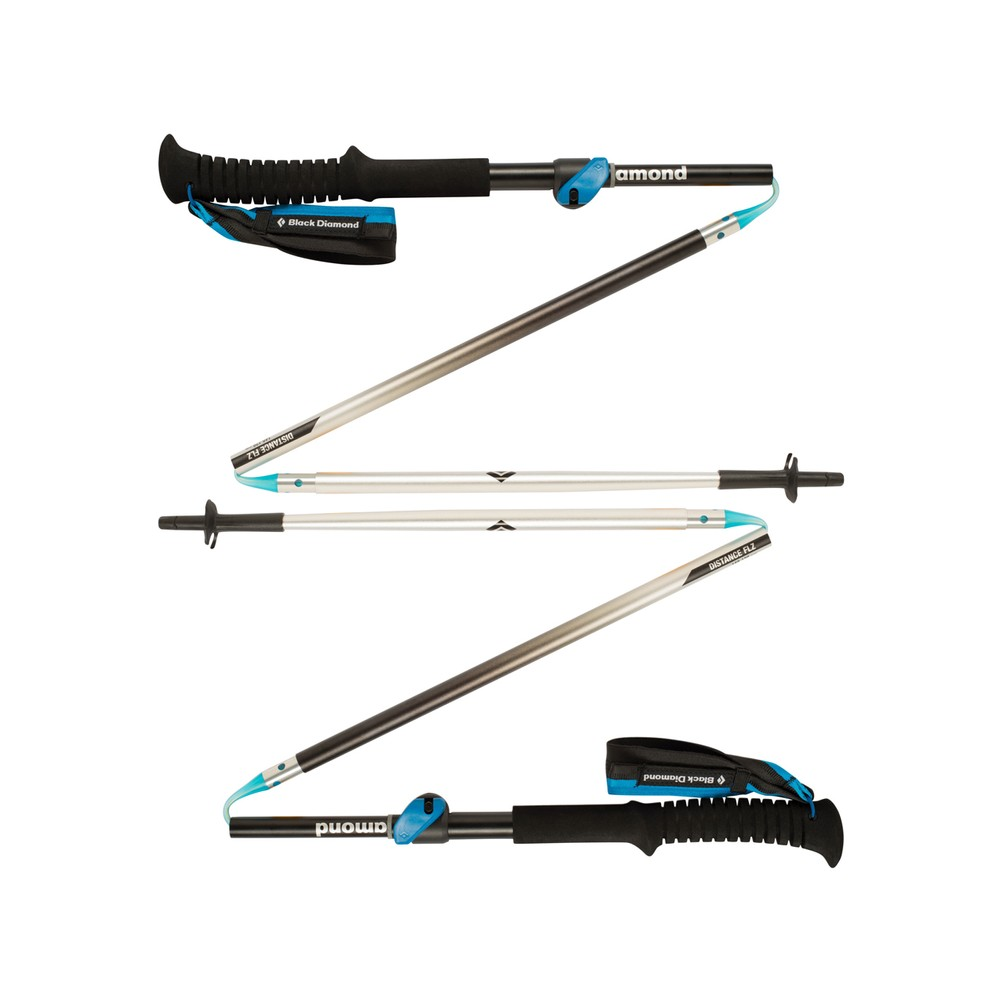 Black Diamond Distance FLZ Z-Poles Mens No Color