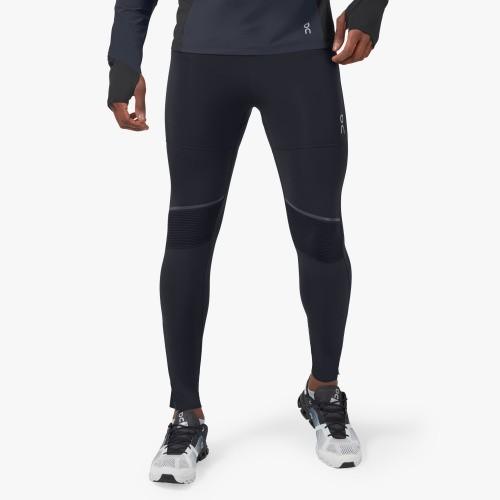 On Running Tights Long Mens Black