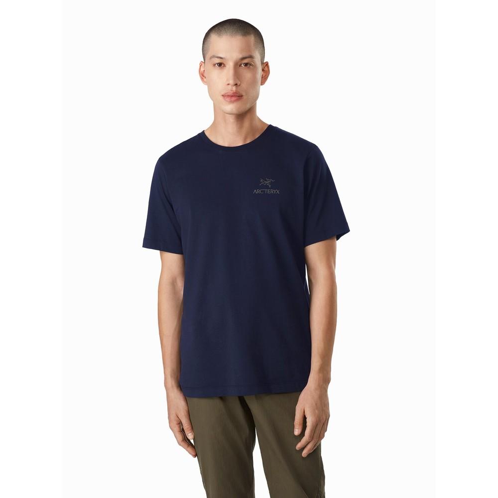 Arcteryx Emblem SS T-Shirt Mens Kingfisher