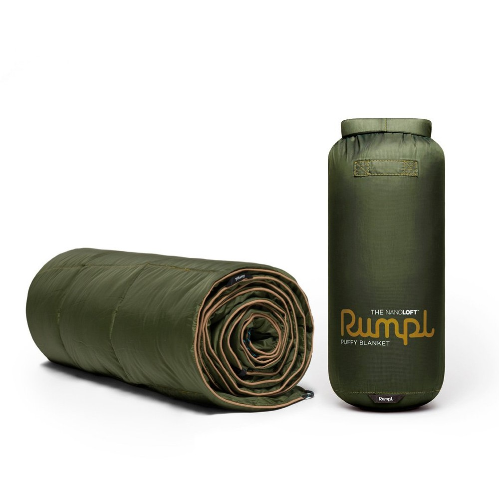 Rumpl Solid Colour Nanoloft Blanket Cypress