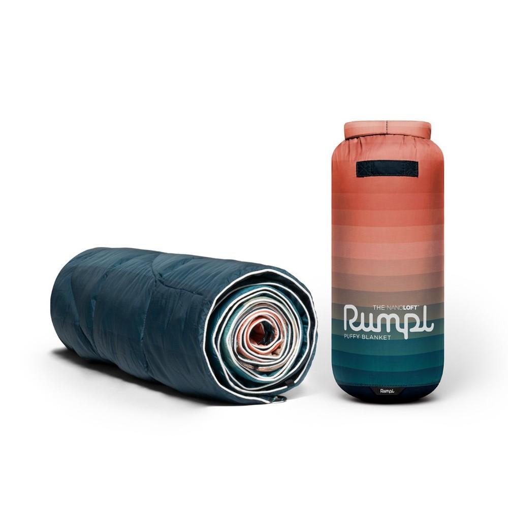Rumpl Printed Nanoloft Blanket Patina Pixel Fade