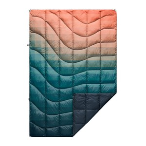 Printed Nanoloft Blanket Patina Pixel Fade
