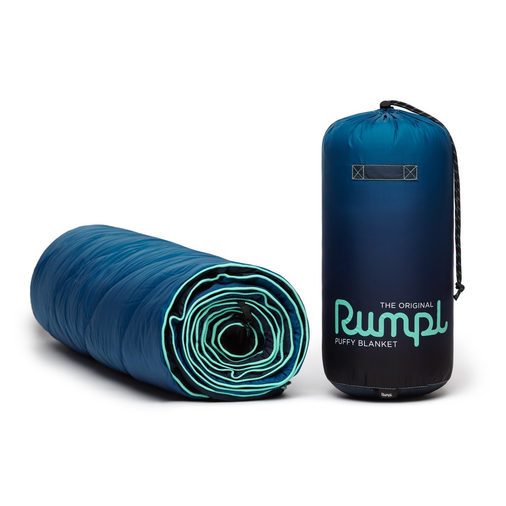 Rumpl Printed Original Puffy Blanket Ocean Fade