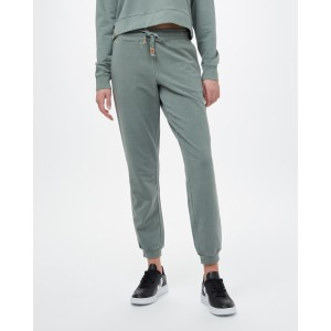 French Terry Fulton Sweatpant Womens Agave Green