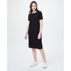 Meadow Dress Womens Meteorite Black